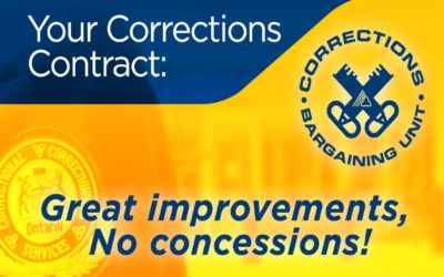 Best Corrections contract in years finalized, available online
